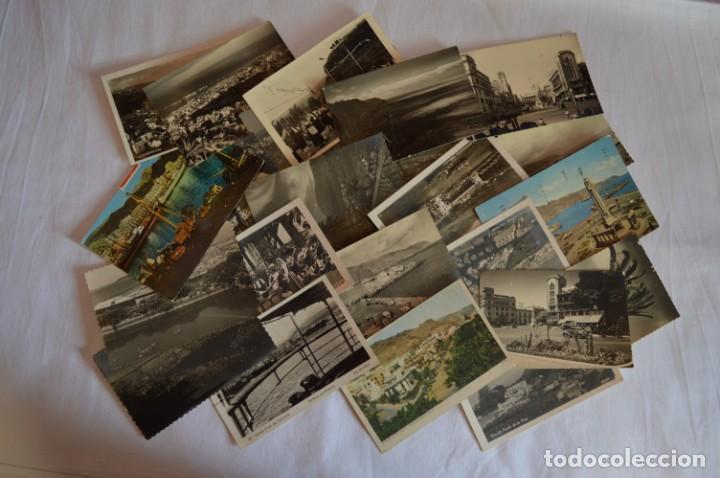 Postales: LOTE 23 POSTALES - Antiguas variadas - SANTA CRUZ DE TENERIFE (Canarias) - Años 50 / 60 ¡Mira! - Foto 2 - 219501321