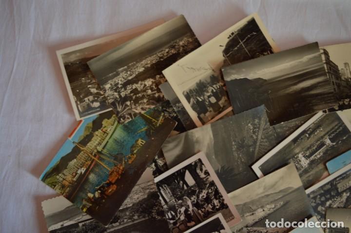Postales: LOTE 23 POSTALES - Antiguas variadas - SANTA CRUZ DE TENERIFE (Canarias) - Años 50 / 60 ¡Mira! - Foto 3 - 219501321