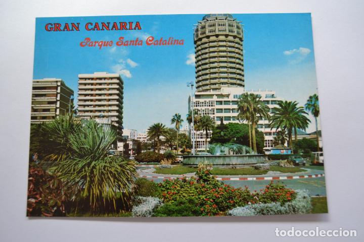 POSTAL. 2888. LAS PALMAS. GRAN CANARIA. PARQUE DE SANTA CATALINA. COLECCIÓN PERLA. NO ESCRITA. (Postales - España - Canarias Moderna (desde 1940))