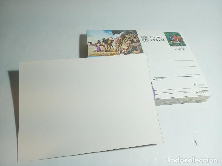 Postales: Lote de 50 postales en perfecto estado. Tarjeta postal Las Palmas. Sello 1,5 PTA. - Foto 2 - 221151016