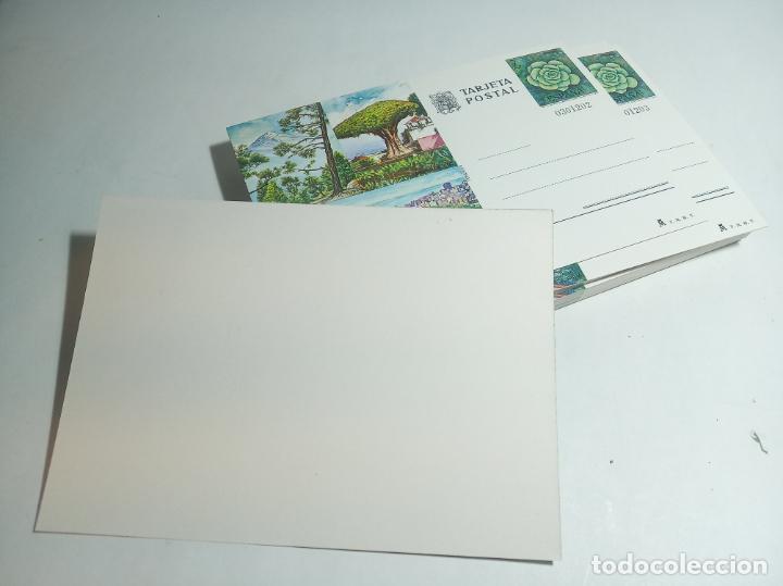 Postales: Lote de 47 postales en perfecto estado. Tarjeta postal Tenerife. Sello 7 PTA. - Foto 2 - 221151162