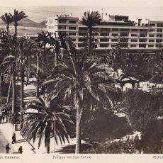 Postales: LAS PALMAS DE GRAN CANARIA PARQUE DE SAN TELMO. ED. ARRIBAS Nº 49. Lote 221699857