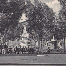 Postales: TENERIFE PLAZA DE WEYLER. ED. BAZAR FRANCES TENERIFE. SIN CIRCULAR. Lote 221701191