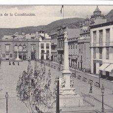Postales: TENERIFE PLAZA DE LA CONSTITUCION. ED. BAZAR FRANCES. SIN CIRCULAR. Lote 221701447