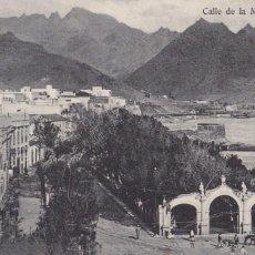 Postales: TENERIFE CALLE DE LA MARINA. ED. BAZAR FRANCES. SIN CIRCULAR. Lote 221701760