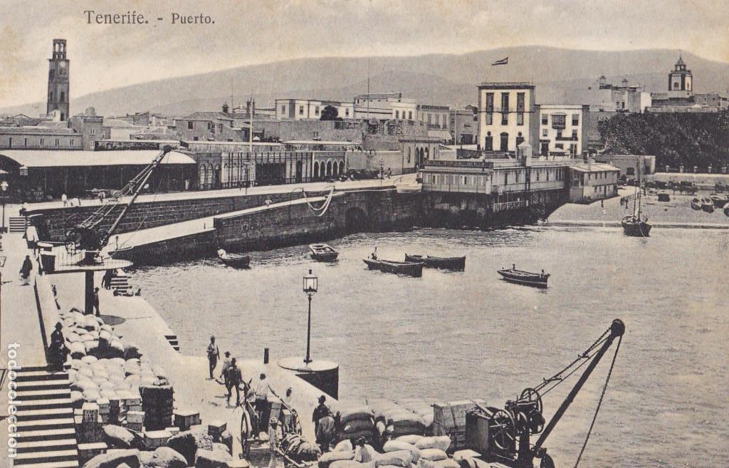 TENERIFE PUERTO. ED. BAZAR FRANCES Nº 30. SIN CIRCULAR (Postales - España - Canarias Antigua (hasta 1939))