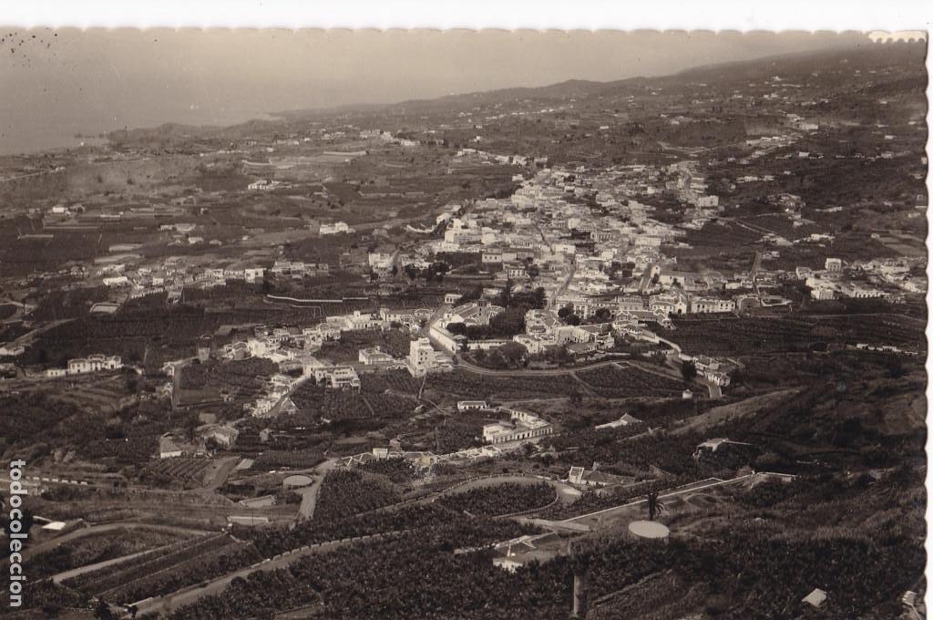 TENERIFE ICOD VISTA GENERAL. ED. LUJO Nº 120. SIN CIRCULAR (Postales - España - Canarias Antigua (hasta 1939))