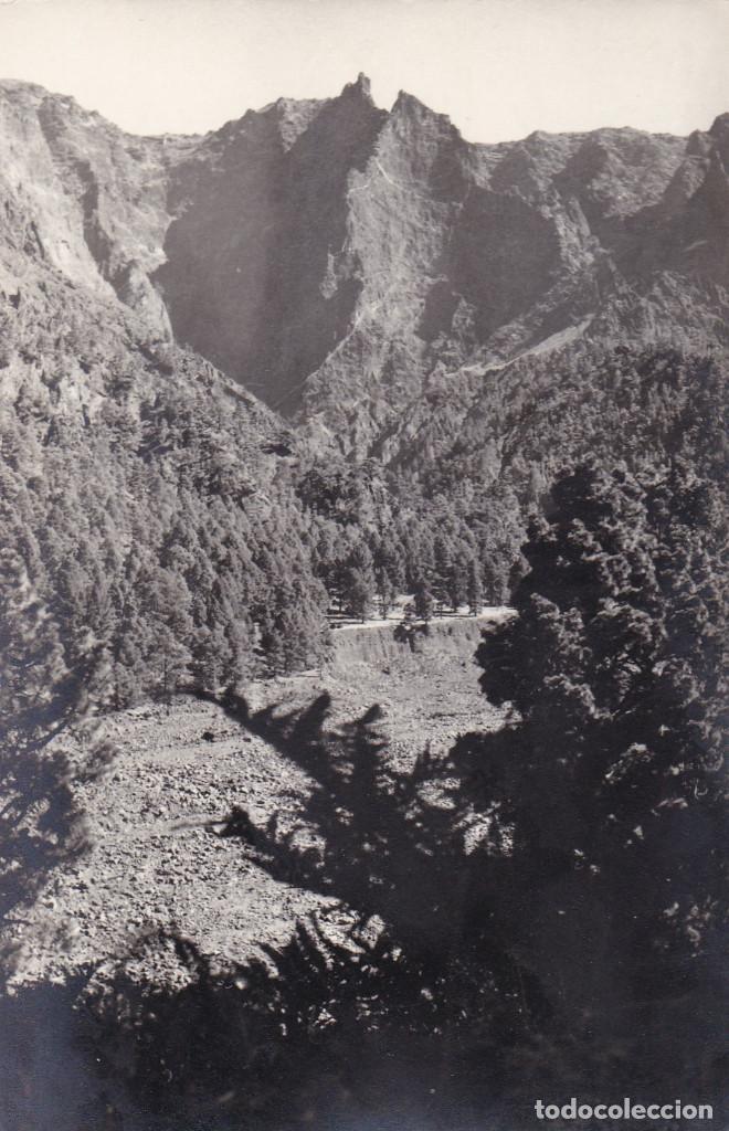 ISLA SAN MIGUEL DE LA PALMA CALDERA DE TABURIENTE SANTA CRUZ DE LA PALMA. ED. CASA BETHENCOURT (Postales - España - Canarias Antigua (hasta 1939))