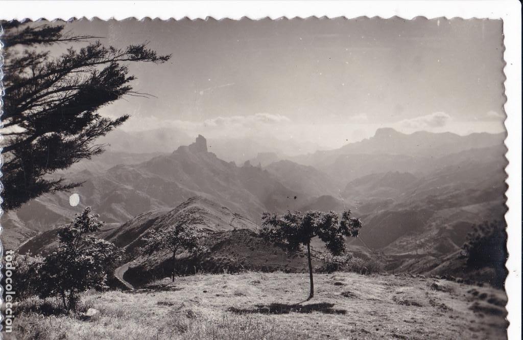 LAS PALMAS DE GRAN CANARIA, TEJEDA VISTA DE BENTAYGA. ED. SICILIA Nº 52 (Postales - España - Canarias Antigua (hasta 1939))