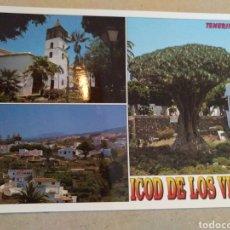 Cartes Postales: POSTAL DE TENERIFE. ICOD DE LOS VINOS ISLA ELISA SIN CIRCULAR. Lote 222054138