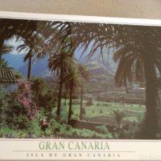 Postales: POSTAL DE LAS PALMAS. VALLE AGAETE. SIN CIRCULAR. Lote 222121108