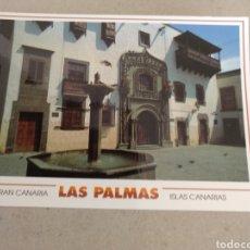 Postales: POSTAL DE LAS PALMAS. CASA DE COLÓN. SIN CIRCULAR. Lote 222121291