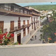 Postales: POSTAL DE TENERIFE. LA OROTAVA CASAS SEÑORIALES. SIN CIRCULAR. Lote 222126051