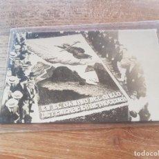 Postales: FOTO POSTAL ALFOMBRAS DE FLORES TENERIFE. Lote 222223892