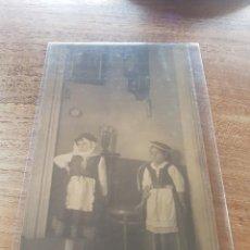 Postales: FOTO POSTAL NIÑOS BESTIDOS DE MAGOS TENERIFE CANARIAS. Lote 222226307