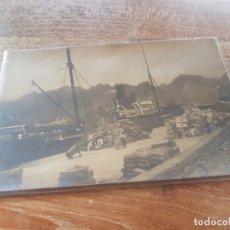 Cartes Postales: FOTO POSTAL PUERTO Y BARCOS DE SANTA CRUZ DE TENERIFE CANARIAS. Lote 222232148