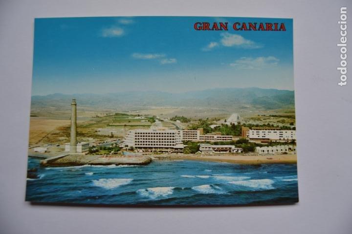 POSTAL. 2857. MASPALOMAS. GRAN CANARIA. VISTA PARCIAL AÉREA. COLECCIÓN PERLA. NO ESCRITA. (Postales - España - Canarias Moderna (desde 1940))