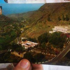 Postales: POSTAL AGAETE GRAN CANARIA LOS BEZARRALES BALNEARIO N 174 FOTO SUMINISTROS ESCRITA Y SELLADA. Lote 222817346