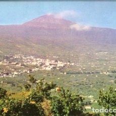 Postales: TENERIFE. VALLE DE LA OROTAVA Y TEIDE. FOTO ABRIL. 1961. DISTRIBUIDOR VÍCTOR GONZÁLEZ DELGADO. Lote 222916366
