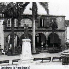 Postales: POSTAL ORIGINAL DE EL AYUNTAMIENTO SANTA CRUZ DE LA PALMA (ISLA DE LA PALMA) SIN CIRCULAR. Lote 222924921