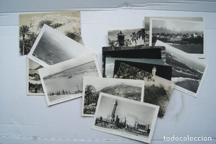 LOTE O COLECCION DE 17 POSTALES CANARIAS DIFERENTES ESCRITAS PUEBLOS (Postales - España - Canarias Moderna (desde 1940))