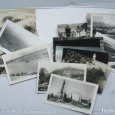 Postales: LOTE O COLECCION DE 17 POSTALES CANARIAS DIFERENTES ESCRITAS PUEBLOS. Lote 224068140