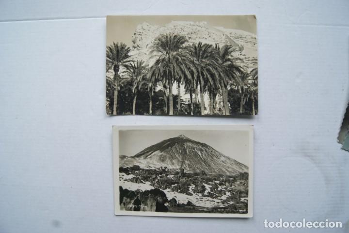 Postales: LOTE O COLECCION DE 17 POSTALES CANARIAS DIFERENTES ESCRITAS PUEBLOS - Foto 2 - 224068140