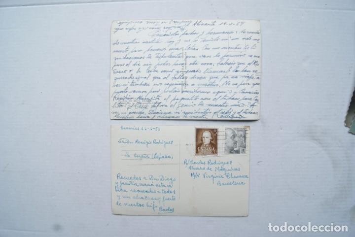 Postales: LOTE O COLECCION DE 17 POSTALES CANARIAS DIFERENTES ESCRITAS PUEBLOS - Foto 3 - 224068140
