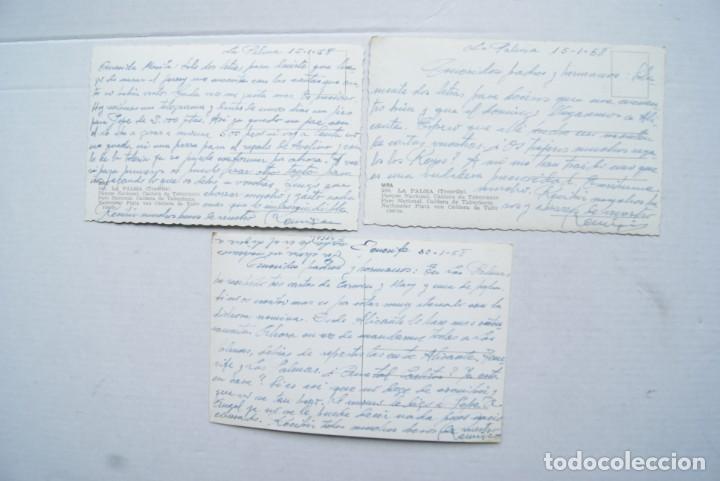 Postales: LOTE O COLECCION DE 17 POSTALES CANARIAS DIFERENTES ESCRITAS PUEBLOS - Foto 5 - 224068140