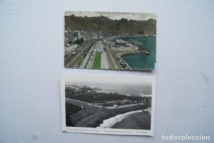 Postales: LOTE O COLECCION DE 17 POSTALES CANARIAS DIFERENTES ESCRITAS PUEBLOS - Foto 8 - 224068140