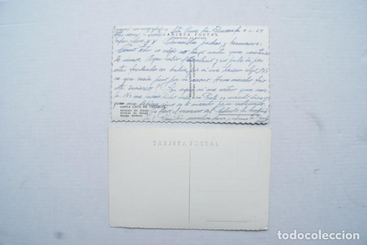 Postales: LOTE O COLECCION DE 17 POSTALES CANARIAS DIFERENTES ESCRITAS PUEBLOS - Foto 9 - 224068140