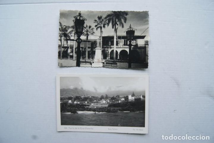 Postales: LOTE O COLECCION DE 17 POSTALES CANARIAS DIFERENTES ESCRITAS PUEBLOS - Foto 10 - 224068140