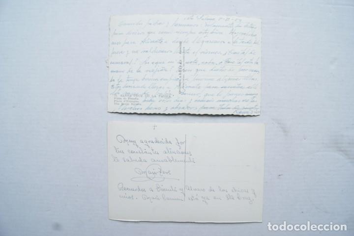 Postales: LOTE O COLECCION DE 17 POSTALES CANARIAS DIFERENTES ESCRITAS PUEBLOS - Foto 12 - 224068140