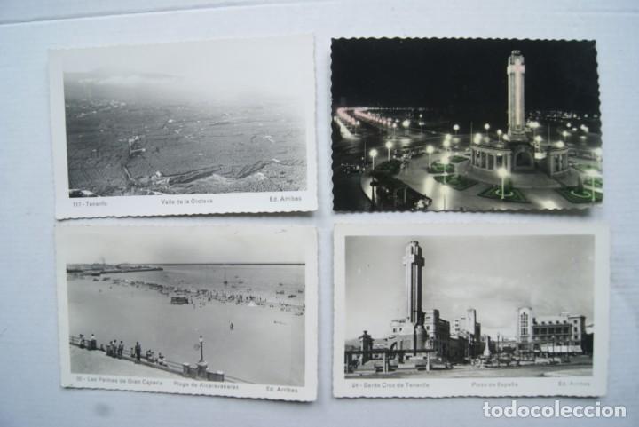 Postales: LOTE O COLECCION DE 17 POSTALES CANARIAS DIFERENTES ESCRITAS PUEBLOS - Foto 15 - 224068140