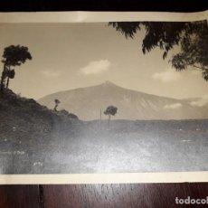 Postales: Nº 40257 POSTAL FOTOGRAFICA TENERIFE EL TEIDE FOTO BAENA Nº34. Lote 224271420