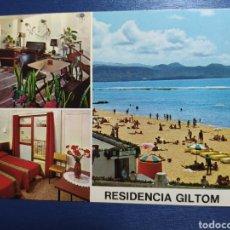 Postales: LAS PALMAS DE GRAN CANARIA, RESIDENCIA GALTON, AÑOS 60. Lote 224354640