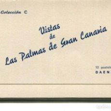 Postales: LOTE 10 POSTALES- LAS PALMAS DE GRAN CANARIA- BAENA COLECCIÓN C. Lote 225470145