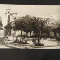 Postales: FOTOGRAFÍA TAMAÑO POSTAL. GÜÍMAR. TENERIFE. LA IGLESIA. FOTO GARCÍA. SIN CIRCULAR. Lote 225585355