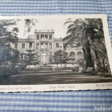 Postales: POSTAL FOTOGRÁFICA ANTIGUA CANARIAS. TENERIFE. GRAN HOTEL TAORO. ED. ARRIBAS. ESCRITA. Lote 226903265