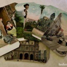 Postales: LOTE DE SIETE POSTALES DE LAS ISLAS CANARIAS: TENERIFE - LAS PALMAS - GRAN CANARIA. Lote 226926545