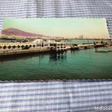 Postales: POSTAL FOTOGRÁFICA ANTIGUA CANARIAS. LAS PALMAS DE GRAN CANARIA. MUELLE SANTA CATALINA.. Lote 227060240
