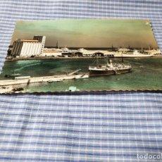 Postales: POSTAL FOTOGRÁFICA ANTIGUA CANARIAS. LAS PALMAS DE GRAN CANARIA. MUELLES DEL PUERTO DE LA LUZ.. Lote 227060365