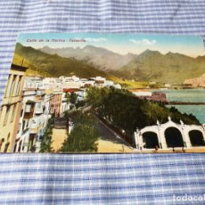 Postales: POSTAL ANTIGUA CANARIAS. TENERIFE. CALLE MARINA. CIRCULADA EL 09/10/1925. Lote 227060815