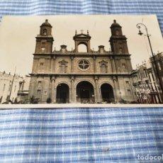 Postales: POSTAL ANTIGUA CANARIAS. LAS PALMAS. CATEDRAL. Lote 227071745