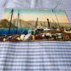 Postales: POSTAL ANTIGUA CANARIAS. STA. CRUZ TENERIFE. MUELLES DE DESCARGA. Lote 227238155
