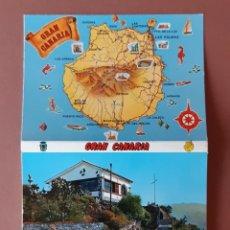 Postales: ALBUM DESPLEGABLE 10 FOTOS POSTALES. GLOBAL TRADERS. GRAN CANARIA.. Lote 231863555