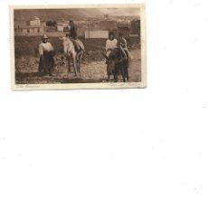 Postales: ANTIGUA POSTAL DE LAS ISLAS CANARIA TIPOS DEL CAMPO. Lote 232049800