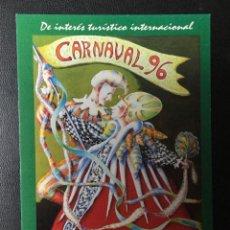 Postales: SANTA CRUZ DE TENERIFE , CARNAVAL 1996 .. Lote 232166505