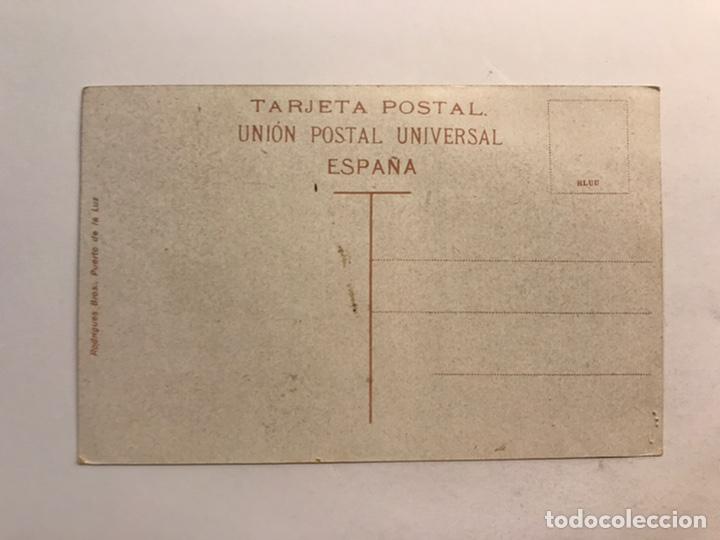 Postales: TIPOS CANARIOS, Cañarías. Postal Edic., Rodrígues Bros, Puerto de la luz. (h.1940?) S/C - Foto 2 - 234148315