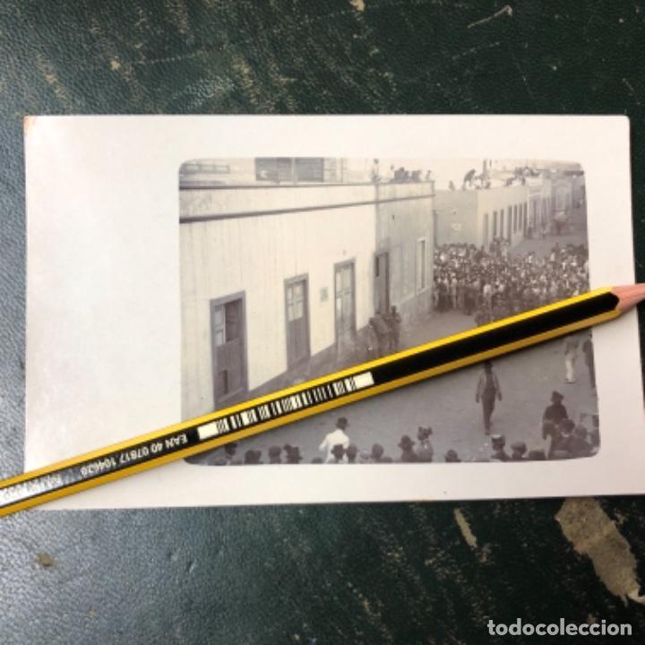 POSTAL DE LOS ASESINATOS DE 1911 DE MOLINO DE VIENTO EN LAS PALMAS GRAN CANARIA (Postales - España - Canarias Antigua (hasta 1939))